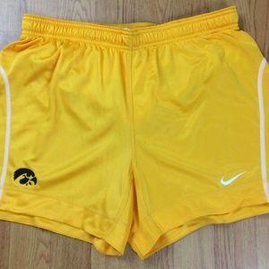 Iowa Hawkeyes Authentic Nike Dri Fit Soccer Shorts